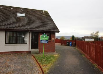 Thumbnail 2 bed terraced house to rent in Caulfield Terrace, Cradlehall, Inverness