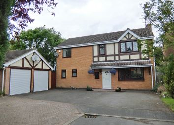 Thumbnail 4 bed detached house for sale in Orchard Close, Ravenstone, Leicestershire
