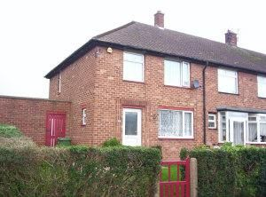 Thumbnail 3 bed end terrace house to rent in Whitby Drive, Grimsby