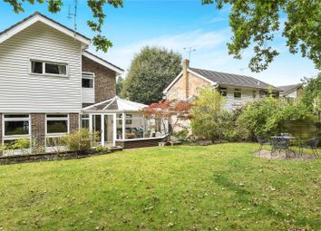 Thumbnail 4 bed detached house for sale in Cherrydale Road, Camberley, Surrey
