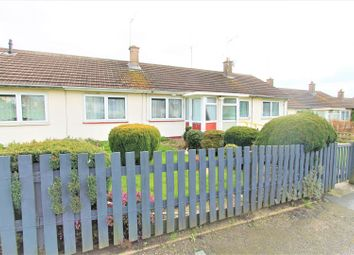 Thumbnail 1 bed terraced bungalow for sale in Homestone Gardens, Thurnby, Leicester