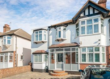 Thumbnail 4 bed semi-detached house to rent in Hook Rise South, Surbiton