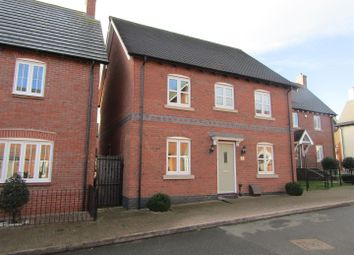 Thumbnail 4 bed detached house for sale in William Everard Close, Rearsby, Leicester