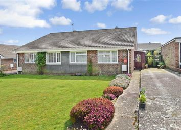 Thumbnail 2 bed semi-detached bungalow for sale in Ethelburga Drive, Lyminge, Folkestone, Kent