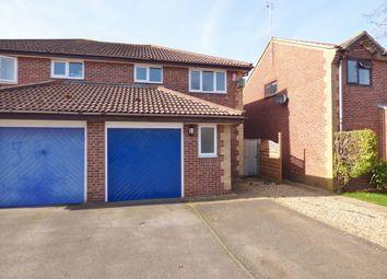 Thumbnail 3 bed semi-detached house for sale in Satinwood Close, Middleton-On-Sea, Bognor Regis