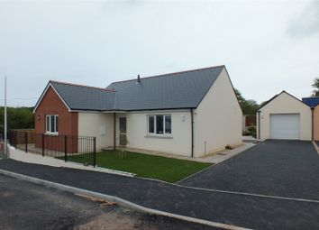 Thumbnail 3 bed detached bungalow for sale in Plot 8, Bowett Close, Hundleton, Pembroke