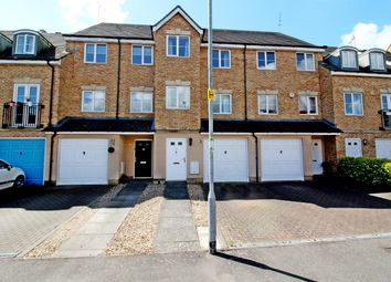 Thumbnail 3 bed town house for sale in Lindler Court, Leighton Buzzard