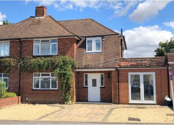 Thumbnail 3 bed semi-detached house for sale in Attfield Close, Ash