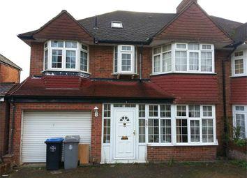 Thumbnail 7 bedroom semi-detached house for sale in Alington Crescent, Kingsbury, London
