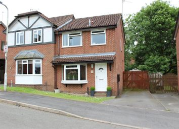 Thumbnail 3 bed semi-detached house for sale in Ashford Road, Whitwick, Coalville