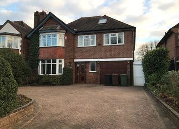 Thumbnail 5 bed detached house to rent in Manor Road, Solihull