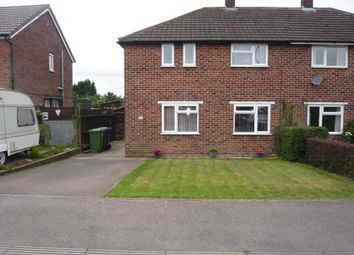 Thumbnail 2 bed semi-detached house to rent in Hilltop Avenue, Gillway, Tamworth, Staffordshire