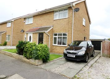 Thumbnail 2 bed semi-detached house for sale in Rothbury Close, Moreton, Wirral
