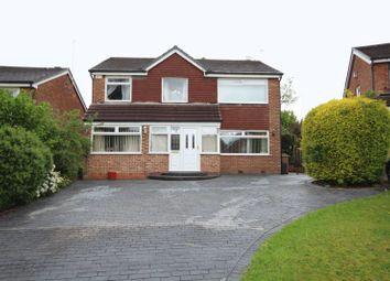 Thumbnail 5 bed detached house for sale in Hawthorn Road, Bamford, Rochdale