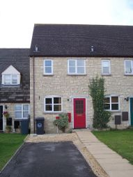 Thumbnail 2 bed terraced house to rent in Aldsworth Court, Deer Park, Witney, Oxon