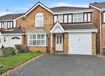 Thumbnail 4 bed detached house for sale in Curlbrook Close, Wootton Fields, Northampton
