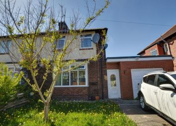 Thumbnail 3 bed semi-detached house for sale in Hall Avenue, Fenham, Newcastle Upon Tyne