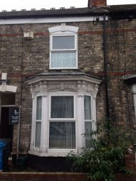 Thumbnail 4 bedroom terraced house to rent in Edgecumbe Street, Hull
