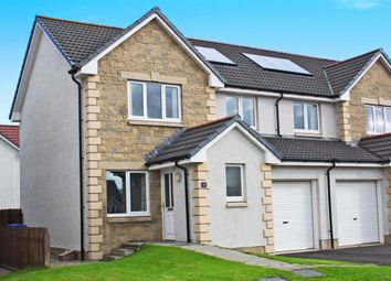 Thumbnail 3 bed semi-detached house to rent in Culduthel Mains Circle, Inverness