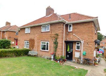 Thumbnail 2 bedroom flat for sale in Queensway, Wymondham, Norfolk