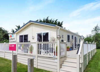 Thumbnail 3 bed mobile/park home for sale in Butt Lane, Burgh Castle, Great Yarmouth