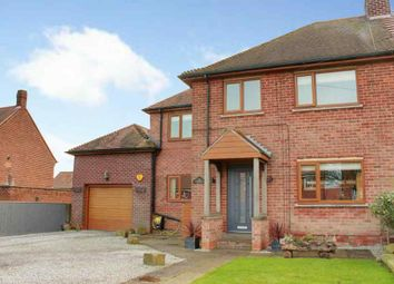 Thumbnail 4 bed semi-detached house for sale in Woodhall Way, Beverley