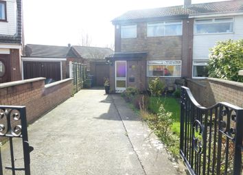 Thumbnail 4 bed semi-detached house for sale in Lowther Crescent, Leyland