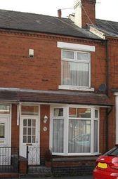 Thumbnail 2 bedroom terraced house to rent in Swinnerton Street, Crewe, Cheshire
