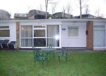 Thumbnail 2 bedroom bungalow for sale in Lake Side, Glan Gwna Holiday Park, Caeathro, Gwynedd