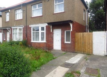 Thumbnail 3 bed property to rent in Hoyle Avenue, Fenham, Newcastle Upon Tyne