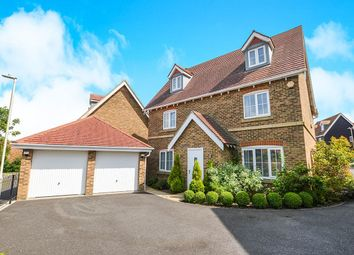 Thumbnail 5 bed detached house for sale in Atkinson Road, Hawkinge, Folkestone