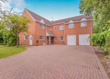 Thumbnail 5 bedroom detached house for sale in The Hawthorns Brockhill Lane, Norton, Worcester