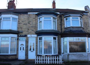 Thumbnail 2 bed terraced house to rent in Frodsham Street, Hedon Road, Hull