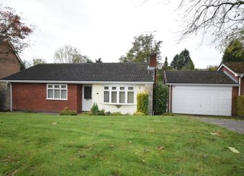 Thumbnail 3 bed detached bungalow for sale in Caversfield Close, Littleover, Derby