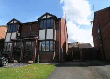 Thumbnail 2 bedroom semi-detached house for sale in Brierley Hill, Brockmoor, Fox Foot Drive