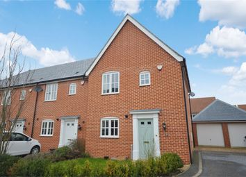 Thumbnail 3 bed end terrace house for sale in Wheatfield Road, Mulbarton, Norwich
