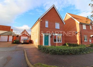 Thumbnail 4 bed detached house for sale in Robin Crescent, Stanway, Colchester