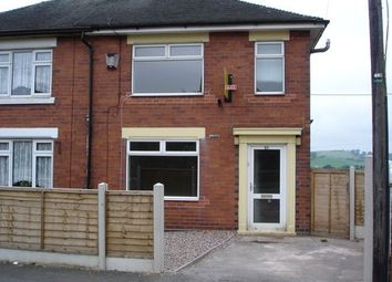 Thumbnail 3 bed town house to rent in Cotton Road, Sandyford, Stoke-On-Trent, 5Qb