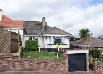Thumbnail 2 bed semi-detached bungalow for sale in Highfield Crescent, Paignton