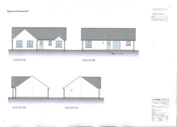 Thumbnail Detached bungalow for sale in Plot 23 Eastland Park, Isle Of Bute