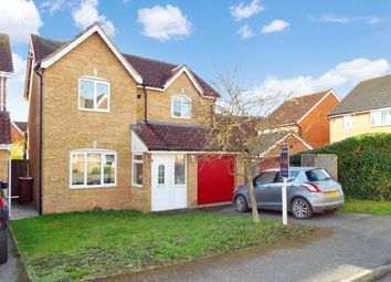 Thumbnail 3 bed detached house for sale in Feast Field Close, Wollaston, Northamptonshire