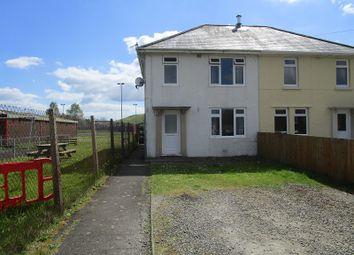 Thumbnail 3 bed semi-detached house for sale in Brynawel Terrace, Ystradowen, Swansea.