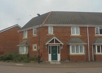 Thumbnail 3 bedroom semi-detached house to rent in Pacific Way, Pride Park, Derby