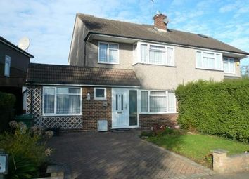 Thumbnail 4 bedroom semi-detached house for sale in Littlebrook Gardens, Cheshunt
