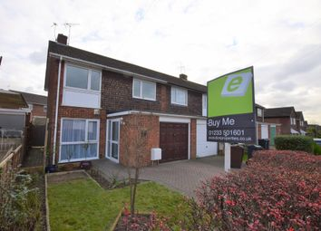 Thumbnail 3 bed end terrace house for sale in Highfield Road, Willesborough