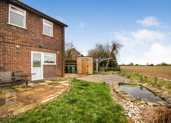 Thumbnail 3 bed semi-detached house for sale in Levine Close, Brundall, Norwich