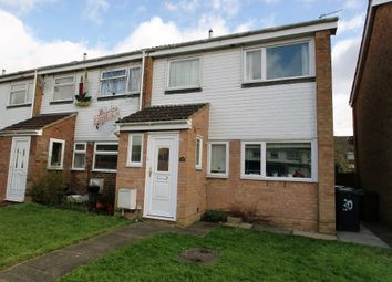 Thumbnail 3 bedroom end terrace house for sale in Gatwick Close, Bishop's Stortford
