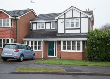 Thumbnail 4 bed detached house for sale in Needwood Way, Leicester, Leicestershire
