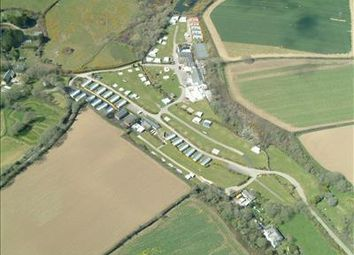 Thumbnail Leisure/hospitality for sale in Calloose Holiday Park, Calloose Lane, Leedstown, Hayle, Cornwall