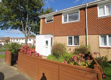 Thumbnail 3 bed end terrace house for sale in Pyecombe Court, Cuckfield Close, Crawley, West Sussex.